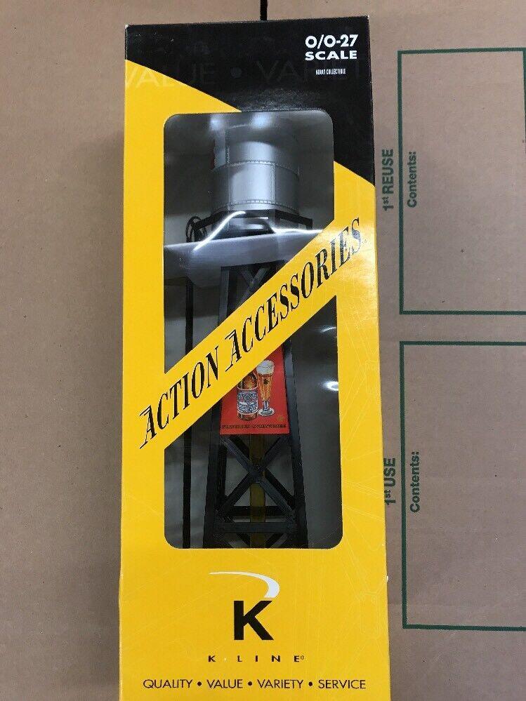 Kline K013105 Budweiser Beer Illuminated Operating Bubbling Water Tower.11K