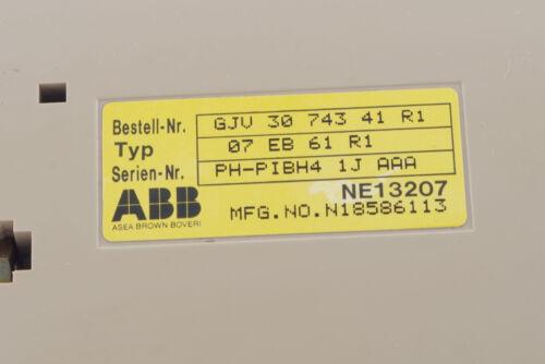 ABB PROCONTIC T200 07EB61 BINARY INPUT GJV3074341R1 07EB61R1