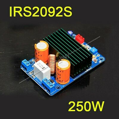 IRS2092S High-power 250W Mono Channel Digital Amplifier Class D HIFI Amp Board