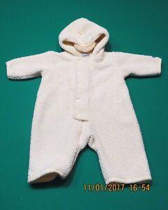 f3b1ef416a1b Carters Yellow Duck Fleece Snow Bunting Snowsuit Newborn 0 3 M ...