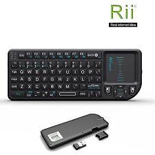 Hot! Rii Mini X1 2.4G Wireless Mini Keyboard with Touchpad for PC Smart TV
