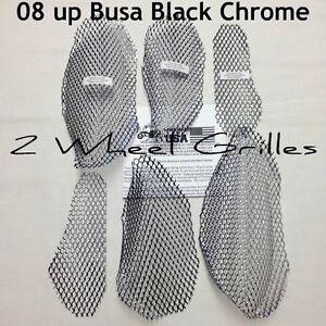 2011 SUZUKI HAYABUSA GSXR 1300 CHROME LIKE FAIRING /& NOSE SCREENS GRILLS VENTS