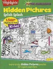 Super Challenge Hidden Pictures#174: Hidden Pictures® Splish Splash.