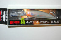 Rapala Xrap X-rap Magnum Xrmag-10 Ggh 4 3/8 3/4 Oz Glass Ghost Saltwater Lure