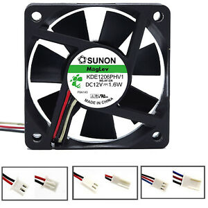 Laptop-PC-60mm-DC-12V-Kuehlung-Luefter-Fan-Fuer-SUNON-6015-KDE1206PHV1