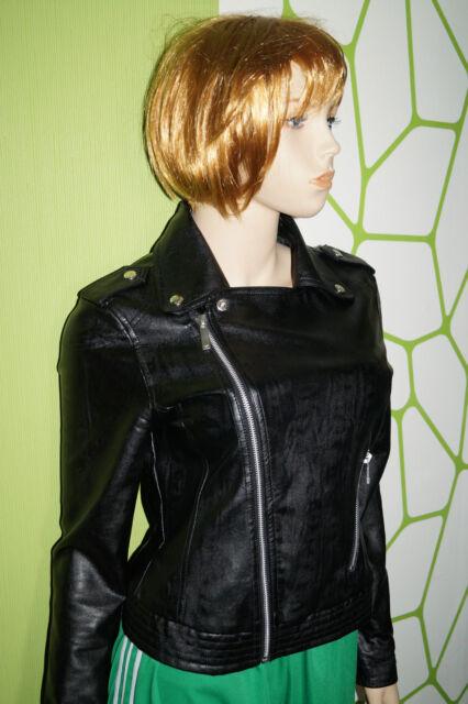 adidas Originals Damen WMNS Kunstleder Biker Jacket Gr.34