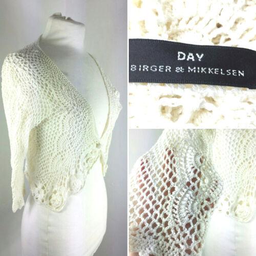 Festival 10 Top Cream Bohemian White Birger Shrug Knitted Crochet Uk 8 Mikkelsen 7qPgxB7wT