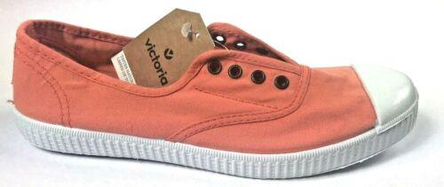 Color Papaya Made in Spain ***NEW*** Victoria Footwear Inglesa Elastico