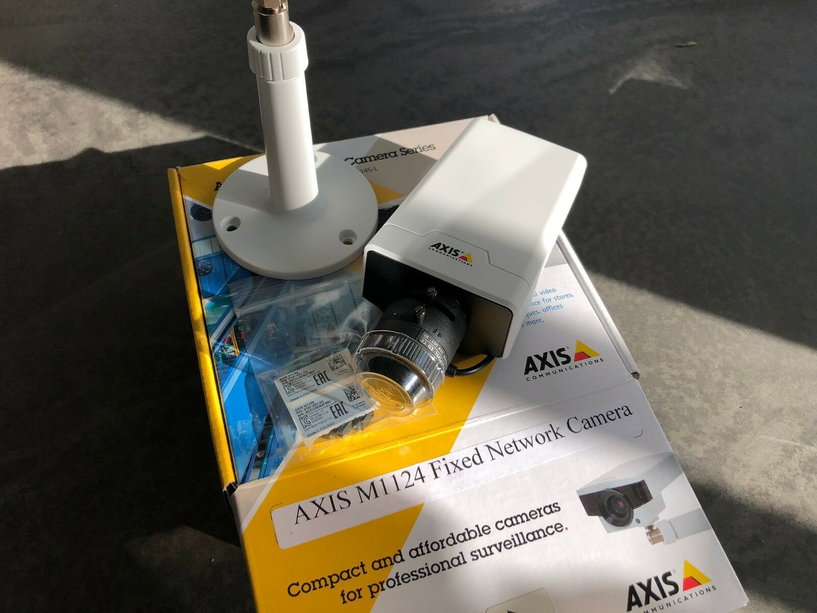 AXIS M1124 Network Camera Windows 8 Drivers Download (2019)