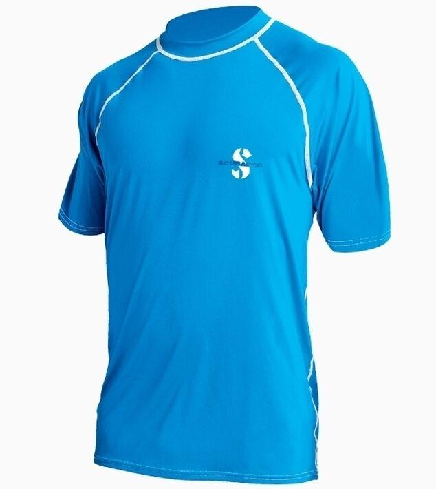 Scubapro UV-Shirt im T-Shirt T-Shirt T-Shirt Schnitt Herren (Blau) - NEU 1a5b26