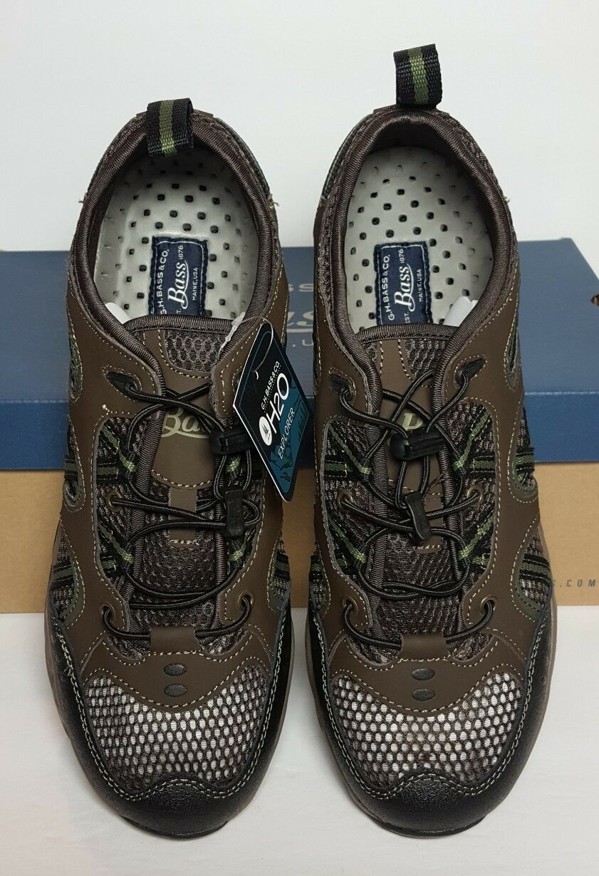 G H BASS MEN'S SEAPORT SNEAKER WATER SHOES MULTIPLE SIZE NEW/ BOX 0112-2976-200