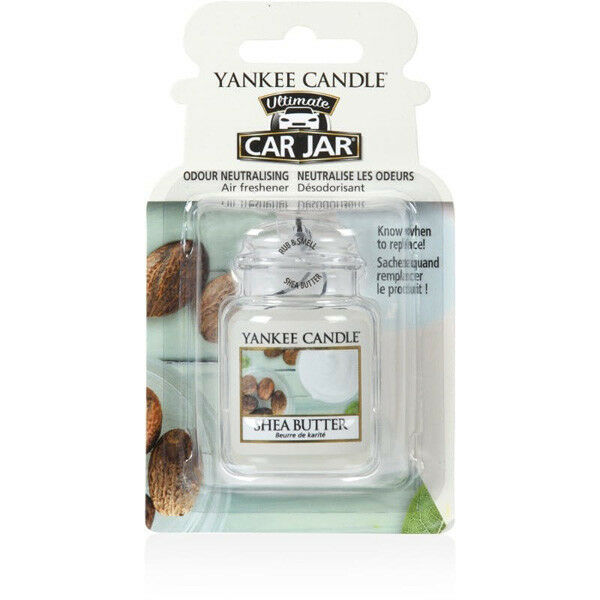 1521600E Car Jar Ultimate Shea Butter Air Freshener Fragrance By Yankee Candle