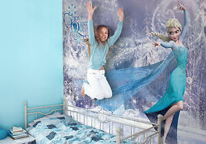 Image Is Loading Giant Paper Wallpaper 368x254cm Frozen Elsa Wall Mural  Part 21