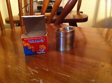 vintage Metal Magic Ring in original box Asian Import Classic Toy Foreign old