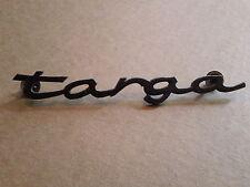 Vintage Porsche Targa Metal Emblem ornament nameplate badge Script trim logo