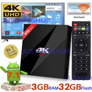 2019 H96 Pro Plus 3GB+32GB Amlogic S912 Octa Core Android 7.1 TV Box 5GHz WiFi 741342484515