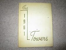 The Towers 1961 Yearbook COLLEGE OF ST. SCHOLASTICA Deluth, Minnesota