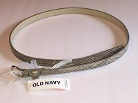 Women's Old Navy Tan Synthetic Leather Belt, Size Xs-s, M-l, L-xl