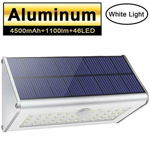 46LED 800Lm 3000mAh Battery Solar Lights Motion Sensor Flood Light Porch Lights