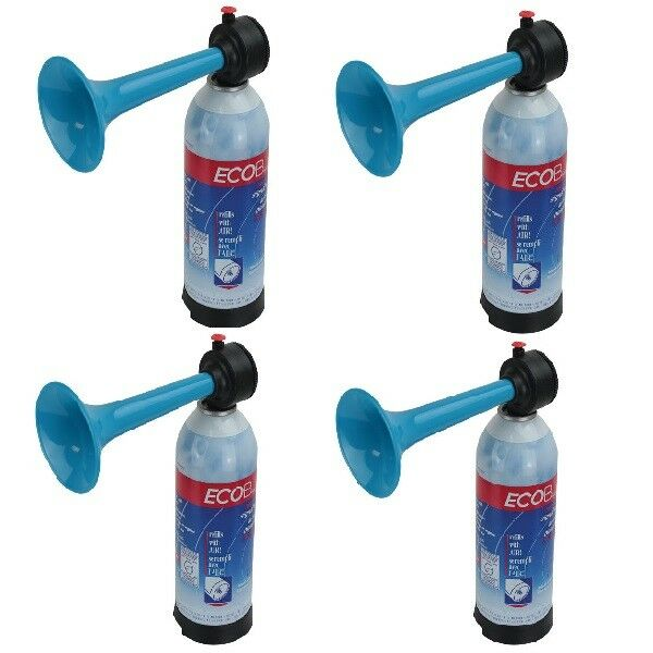 4 x Air Horn Hand Held Pump Up Air Horn Loud and rechargeable Sports Safety Horn