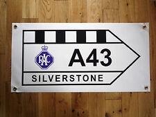 Silverstone A43 Señal De Tráfico Grand Prix Impermeable Exterior Garaje