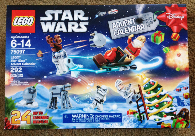 LEGO 75097 STAR WARS ADVENT CALENDAR 2015 unopened NIB complete