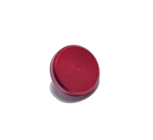 High Quality Shutter Button Soft Release Set Metal Flat//Concave//Convex Red