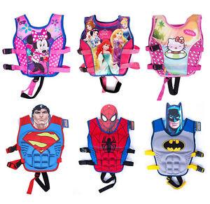 Cartoon-Kids-Swim-Vest-Child-Sports-Floating-Swimming-Tool-Buoyancy-Life-Jacket