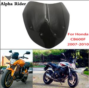 Smoke-Windscreen-Windshield-For-Honda-CB600F-Hornet-599-CB600F-2007-2010