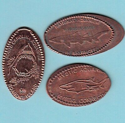 LOT OF 100 ELONGATED PRESSED CENTS AMUSEMENT PARKS PLACES PENNIES // ZOO 3