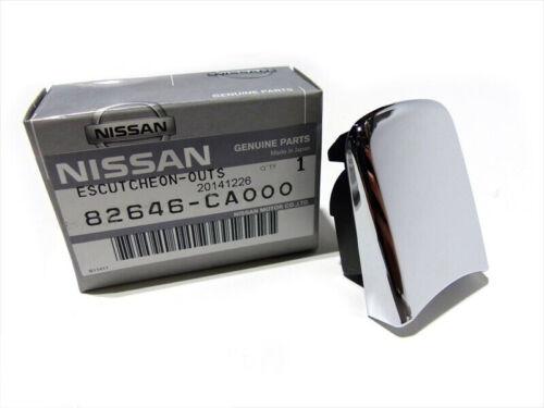 2003-2007 Nissan Murano Right Passenger Exterior Door Handle Escutcheon OEM