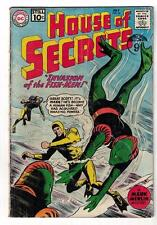 DC Comics VG+ HOUSE OF Secrets  #46 1961 rare silver age