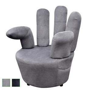 Samtsessel Relaxsessel Fingersessel Sessel Sofa Designer Handsessel