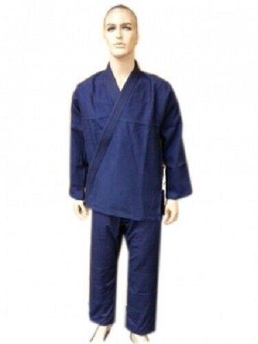 WOLDORF USA Pearl Weave Jiu Jitsu Kimono in Navy bluee NO LOGO
