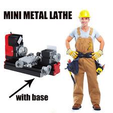 Mini Metal Lathe speed dropped to 20000 rev/min DIY Woodworking Metalworking