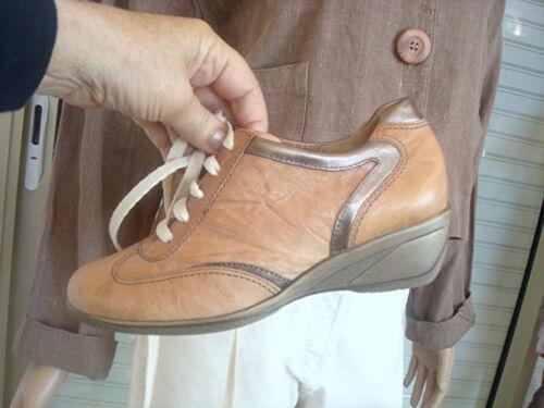 Beige Nuevo Gabor 36 5 T € Bronze Derby leather Basket 120 All Etiquetado z141aq