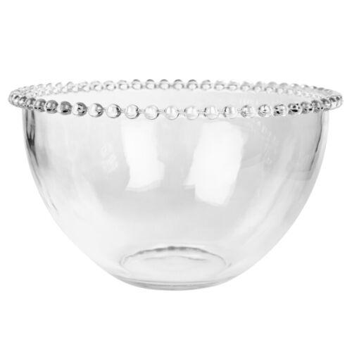 Nigella Lawson Bella Perle Beaded Edge Glass Salad Bowl