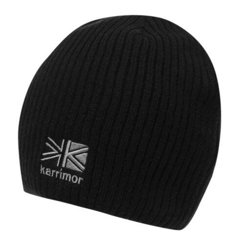 Karrimor Course Bonnet Tricot Chaud Cap Marche Randonnée Outdoor Noir
