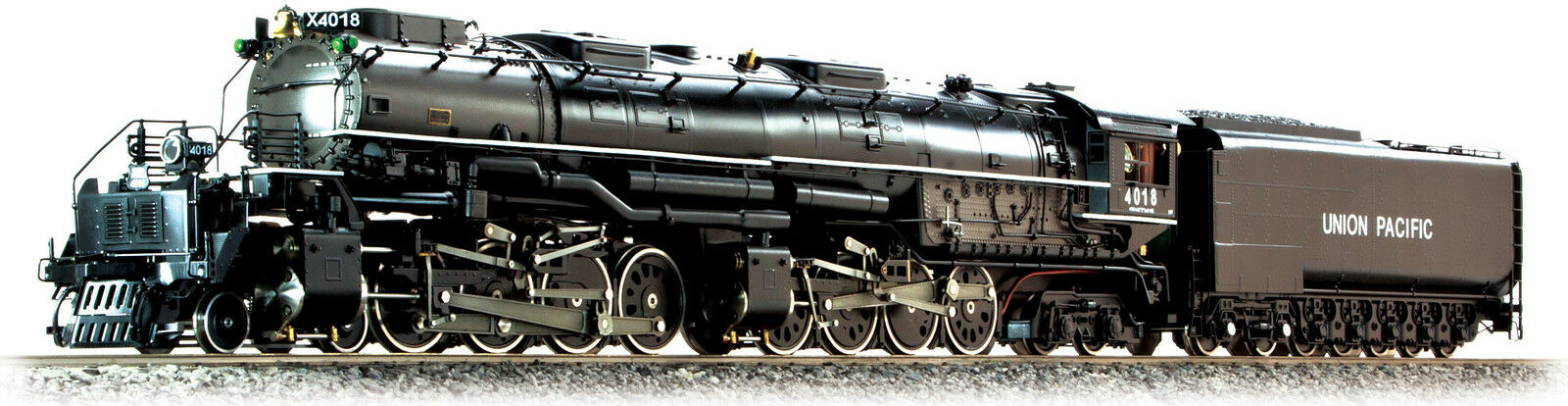 Accucraft al97-395 Union Pacific Big Boy  4018 in 1:32 Live Steam, the last ones