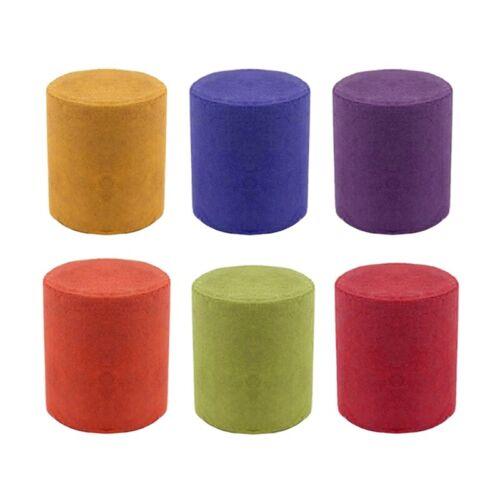 Fotografía de efecto colorido humo Pastel de humo Accesorios Toy 6 Pcs 6 Colores R4B7