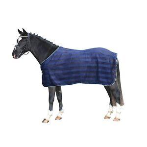 PFIFF-Fliegendecke-blau-135-cm-Fliegen-Schutz-Pferde-Decke-Weidedecke