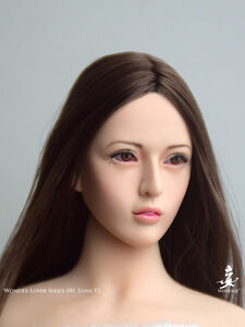 WONDERY Wonder Lover Series 005A Delia Pale Head 1//6 FIT Phicen Female body