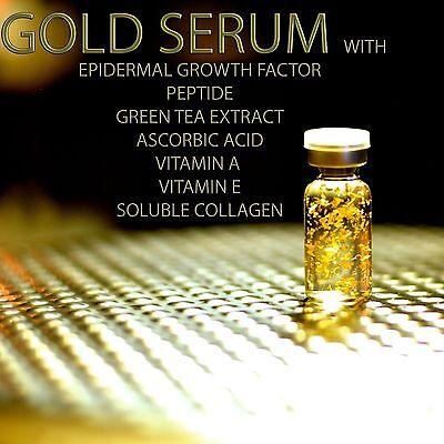 NOURISHING GOLD EGF PEPTIDE VITAMIN A C E Treatment Serum for derma roller VV