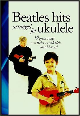 FäHig The Beatles Songbook Ukulele Voices 19 Hits Chords Fingering Diagrams Lyric Klar Und Unverwechselbar