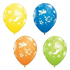 "25 x 11"" Mermaid Latex Balloons Ideal Birthday Beach BBQ Hula Party Decoration"