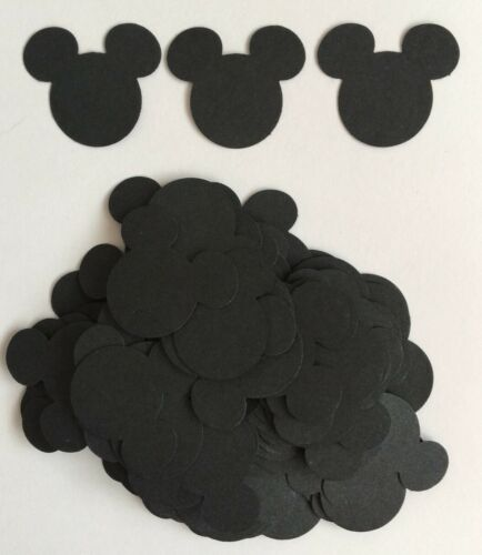 Scrapbook Cardmaking tablescatter 100 X Craft Paper Disney Mickey Mouse Tête