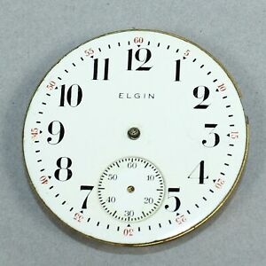 ELGIN-16-SIZE-OPEN-FACE-POCKET-WATCH-MOVEMENT-PARTS-or-REPAIR-DH129