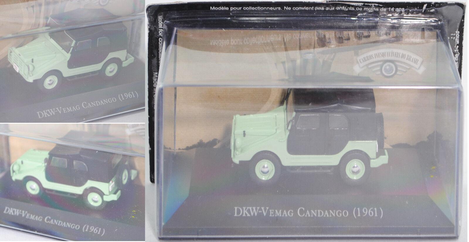 Br59 Carros DKW-Vemag candango  cfr. DKW MUNGA , verde bianco, 1:43