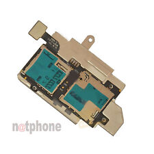 ORIGINALE Samsung gt-i9300 Galaxy s3 Lettore Sim Card + SD Card Reader Flex s3 S III