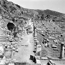 TURQUIE c. 1960 - L' Acropole  Pergame - Négatif 6 x 6 - Tur 86